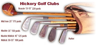 Old Golf Club Distance Chart